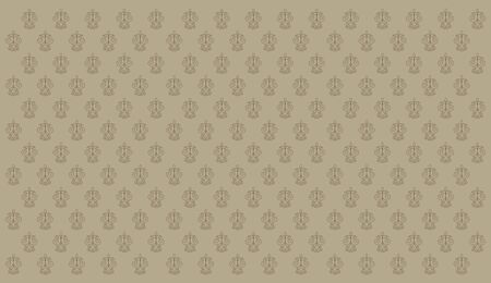 retro brown wallpaper Vector