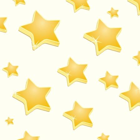 3d sparkling stars