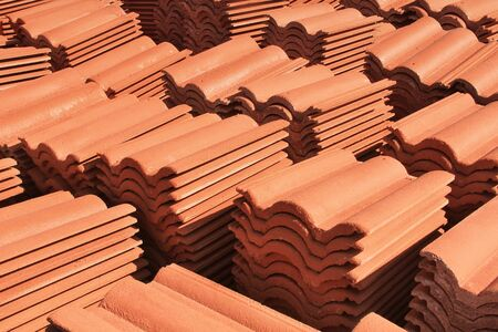 concrete tiles for roof photo