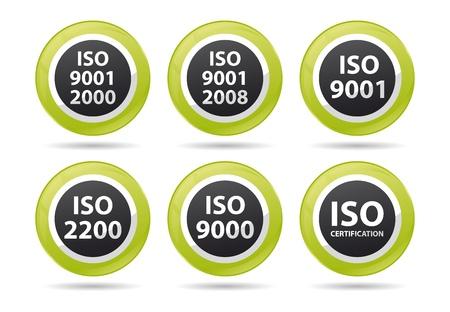 norm: iso icnos para diferentes certificaciones