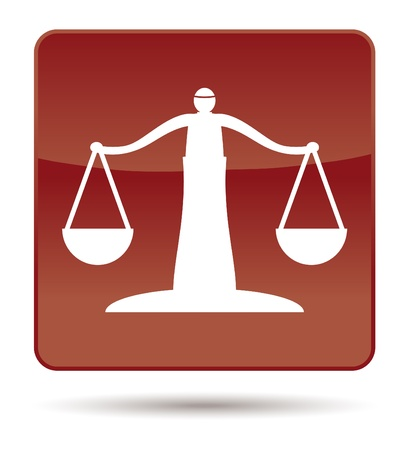 either: brown icon of justice scales
