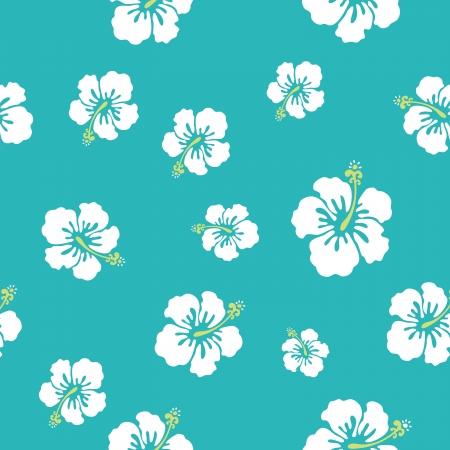 aloha: hawaii Blumen Textur, machen Sie Ihre Muster Illustration