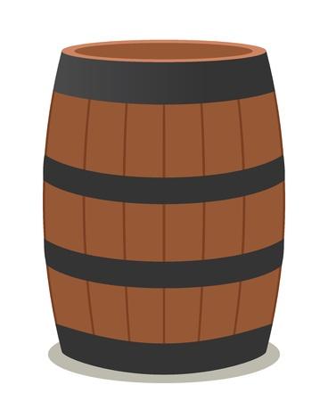 와인 나무와 스틸의 통