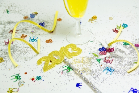 2013 party, happy new year for all Stock Photo - 17031877