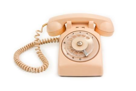 sweet pink vintage retro phone