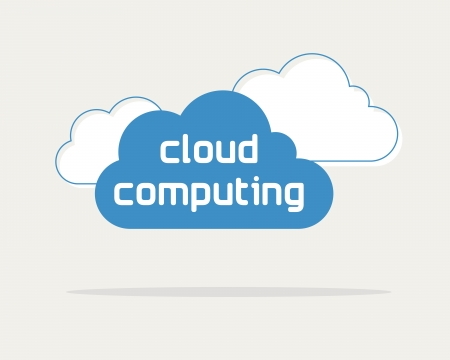 synchronizing: cloud computing concept, web data