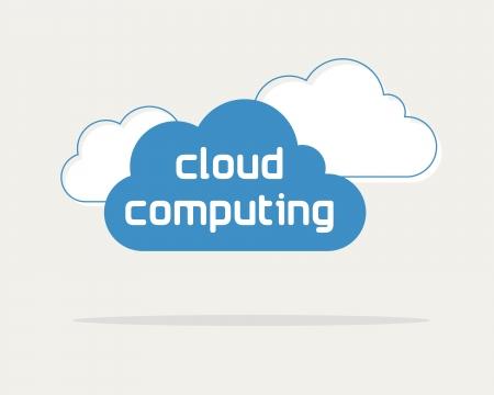 data: cloud computing concept, web data