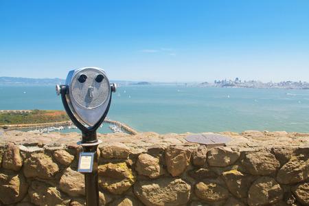 coin binocular in San Francisco, USA