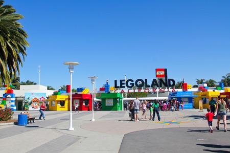 carlsbad: CARLSBAD, California USA- APRIL 2014: Legoland California