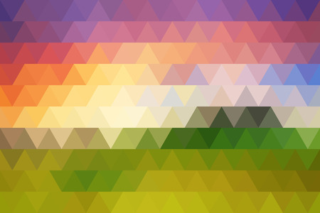 rhombic texture sunset colors