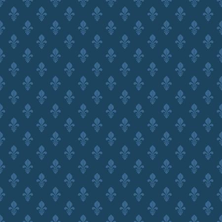 lis: fleur de lis texture in dark blue color