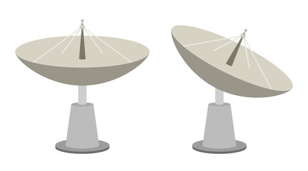 broadcast: Radar dish antenna for broadcast
