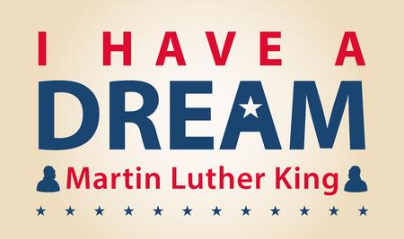 day dream: MLK day celebration, I have a dream