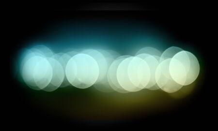 bokeh dark color line, horizontal Stock Photo