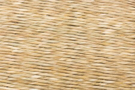 interior decoration: wicker texture from a basket