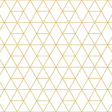 Elegante retro patroon goud vierkanten. Mode stijl.