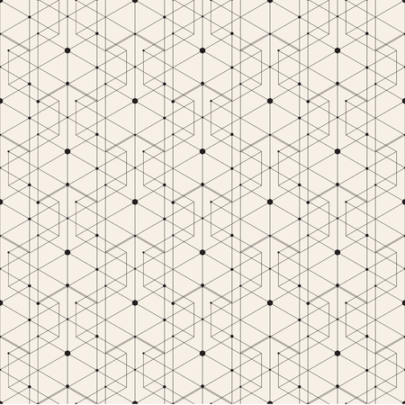 Modern stylish pattern texture. Repeating geometric background. Vector seamless tile.
