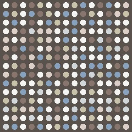 Dots retro texture, neutral shades