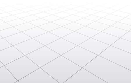 3d floor perspective vector illustration Ilustração Vetorial