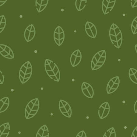 Leafs icon texture for tiling background  イラスト・ベクター素材
