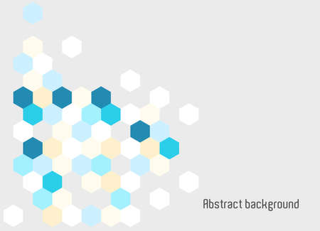 Abstract background hexagon for business presentations
