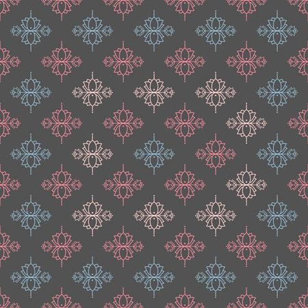 lotus flower texture zen tile, soft colors