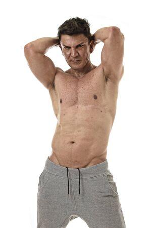 Man mature naked pose