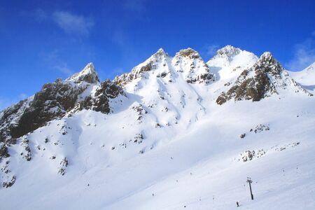 Ski Area And Snow Mountain photo