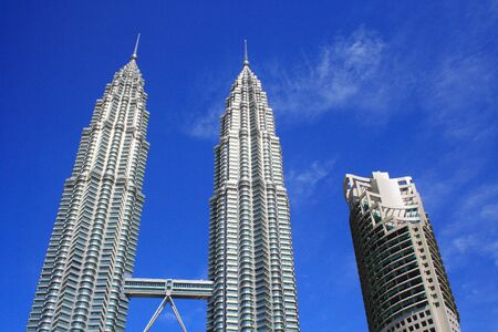 Twin Towers Kuala Lumpur Stock Photo - 3588362