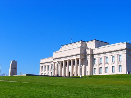 Auckland Museum Stock Photo
