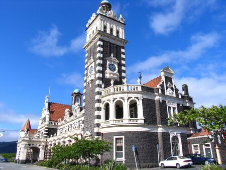History Building In New Zealand Dunedin