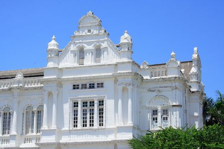 history building: History Building In Asia Stock Photo