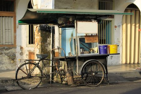 Traditional Tricycle Food Stand