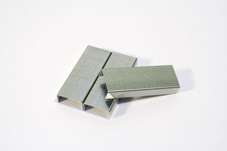 staples: Staples Paper Clips Stock Photo