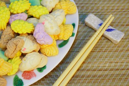 Chinese Traditional Food (New  Year) photo