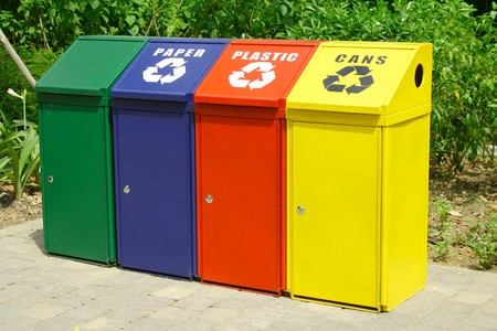 Recycle Bins Stock Photo - 4340060