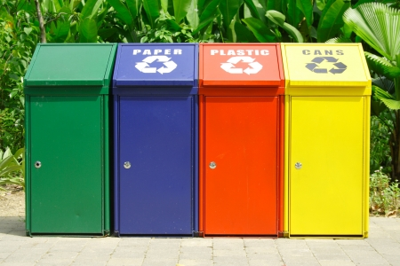 Recycle Bins Stock Photo - 4347253