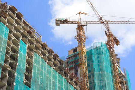 construction crane: Under Construction