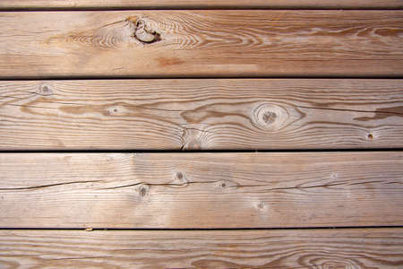 Full frame wooden background made of planks. Copy space for text, design.