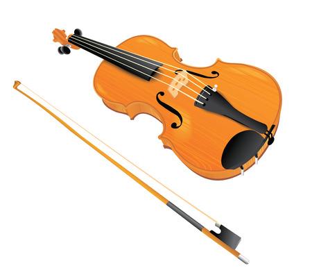 classics: Vector violin Illustration