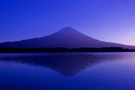 mountain at sunrise Stockfoto