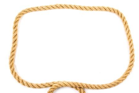 lasso: Rope frame Stock Photo