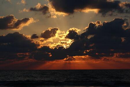 haifa: Sunset in Haifa