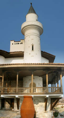 Balchik Castillo, costa del Mar Negro.