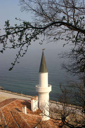 Black sea coast.