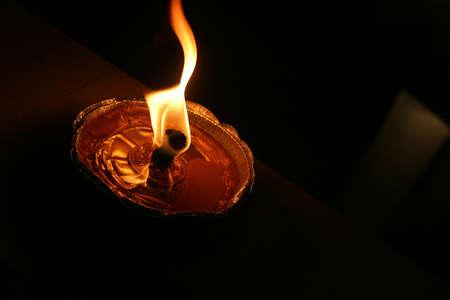 La quema de linterna