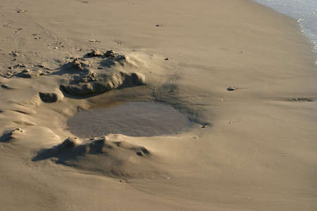puddle at the beach Stock Photo - 912554