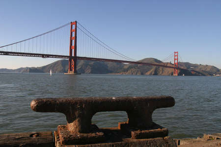 By the Golden Gate bridge, San Francisco