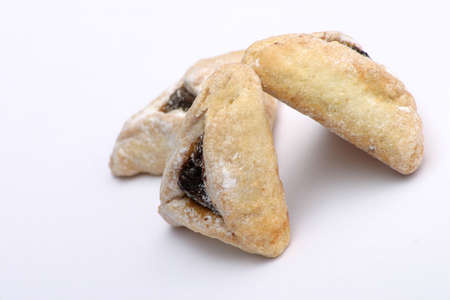 Hamentashen - traditional Jewish pastry for Purim. Stock Photo - 915468