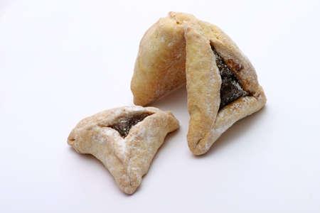 Hamentashen - traditional Jewish pastry for Purim. Stock Photo - 915469